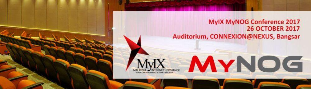 MyIX MyNOG Conference 2017